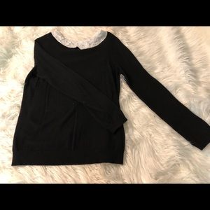 Long sleeve Peter Pan collar blouse from Elle